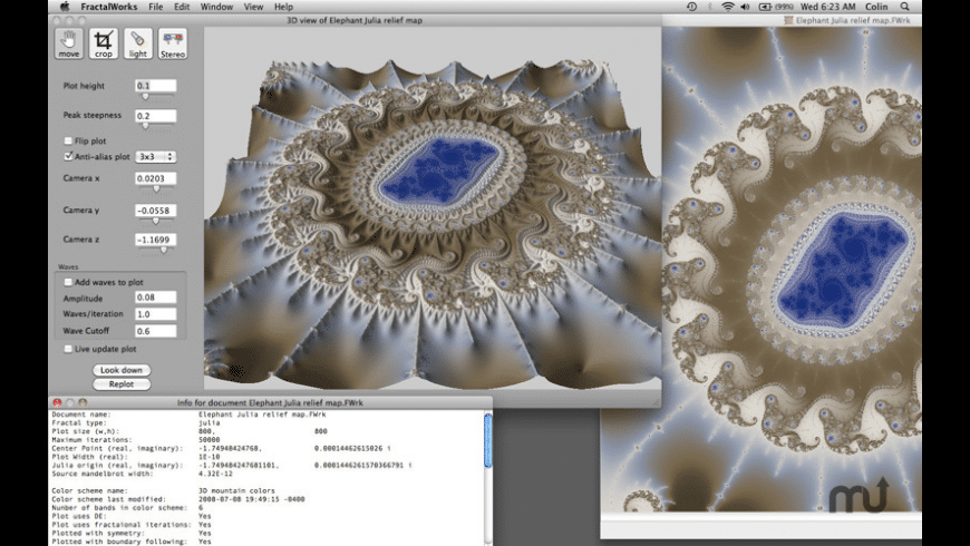 FractalWorks for Mac - review, screenshots