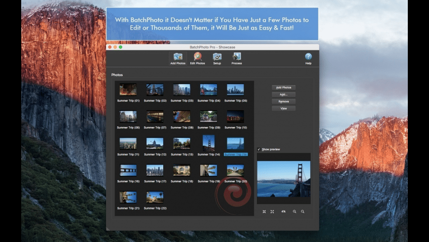 BatchPhoto Pro for Mac - review, screenshots