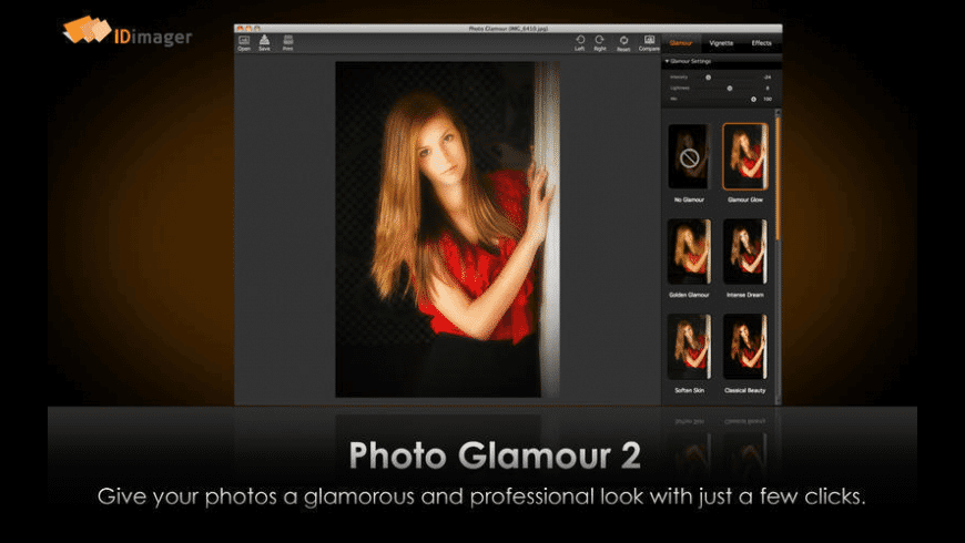 Photo Glamour for Mac - review, screenshots