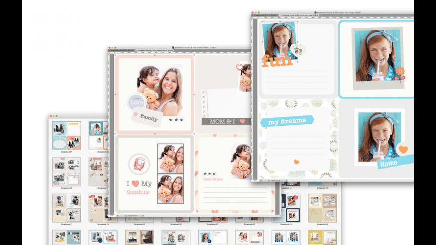 Photo Album Templates for Photoshop for Mac - review, screenshots