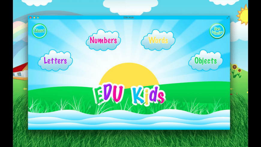 EDU Kids for Mac - review, screenshots