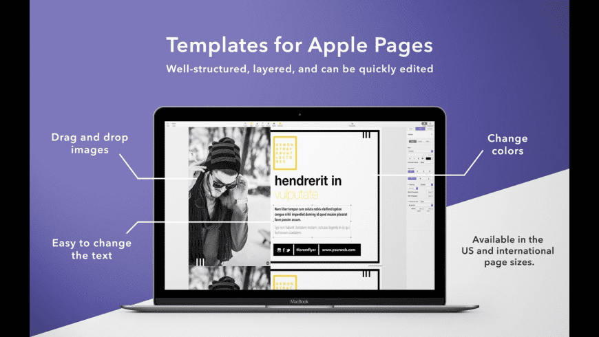 Flyers Templates for Pages for Mac - review, screenshots