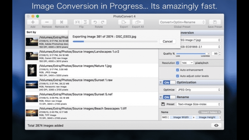PhotoConvert for Mac - review, screenshots