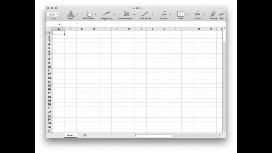 StatPlus for Mac - review, screenshots