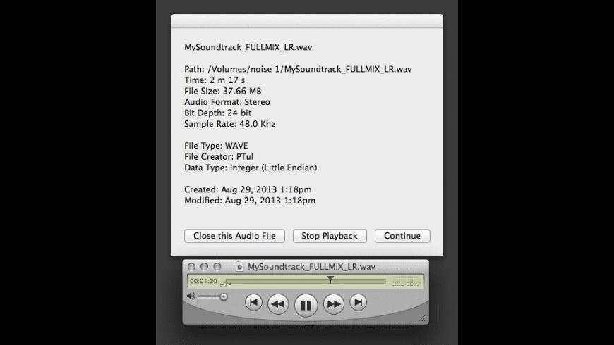 SoundDog for Mac - review, screenshots