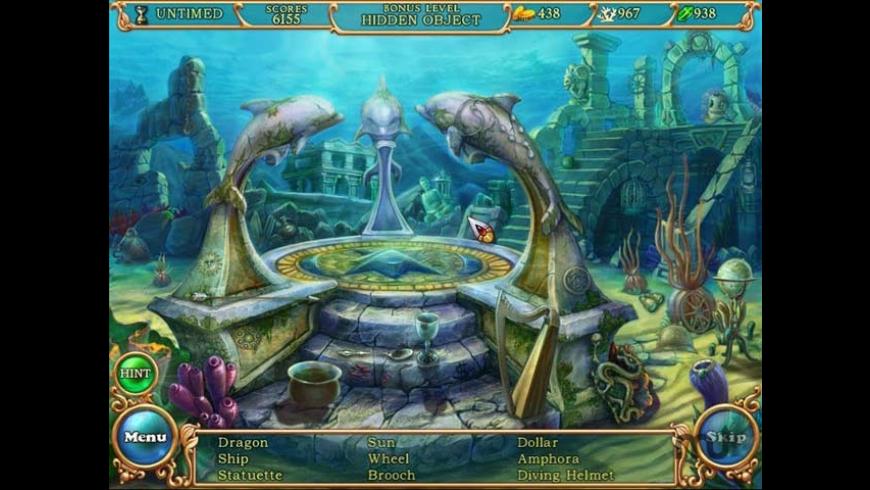 Hidden Wonders of the Depths 3: Atlantis Adventures for Mac - review, screenshots