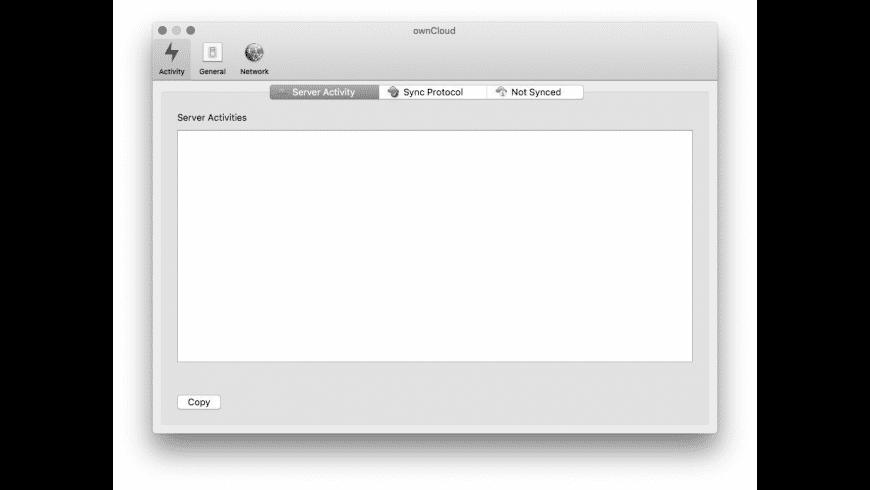 ownCloud for Mac - review, screenshots