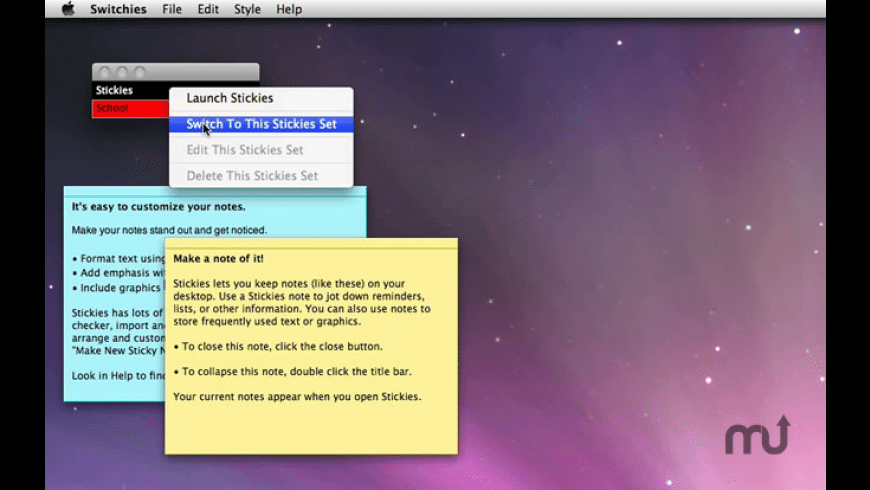 Switchies for Mac - review, screenshots