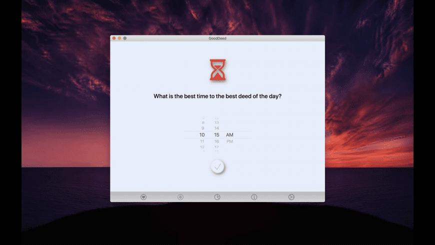 GoodDeed for Mac - review, screenshots