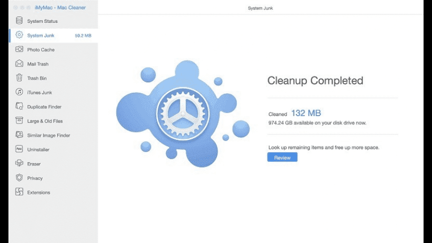 Mac Cleaner for Mac - review, screenshots