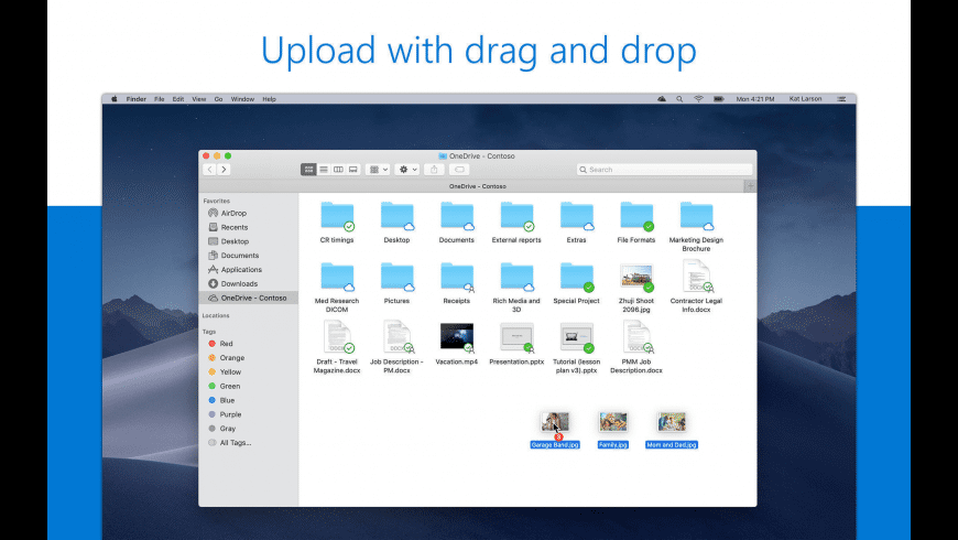 OneDrive client for Mac: no OneDrive icon, no folder overlays ...