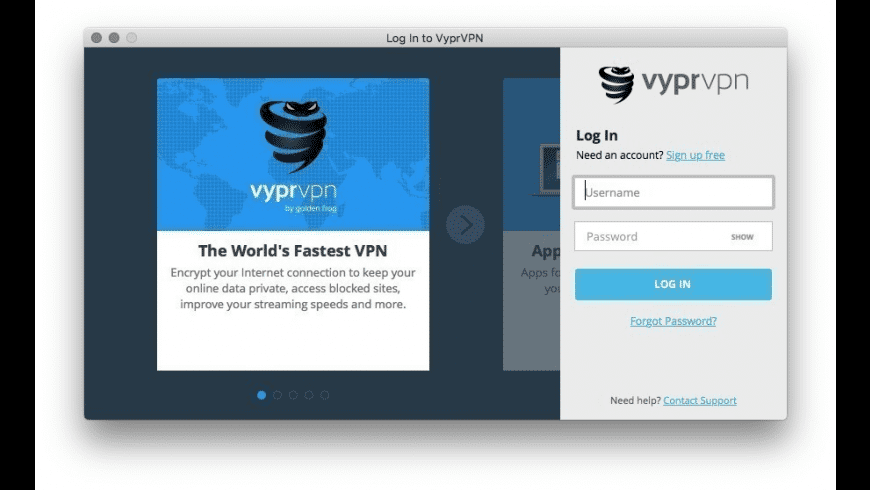 VyprVPN for Mac - review, screenshots