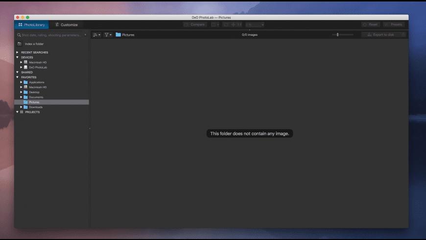 DxO PhotoLab for Mac - review, screenshots
