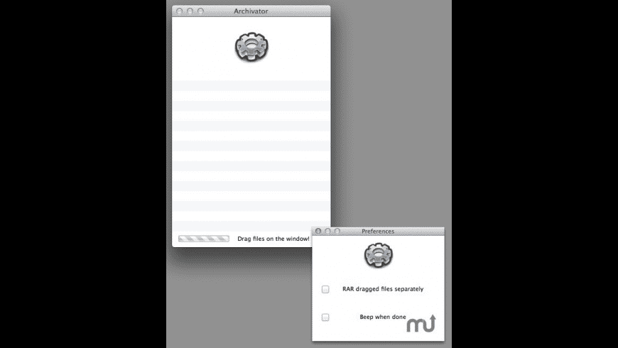 Archivator for Mac - review, screenshots