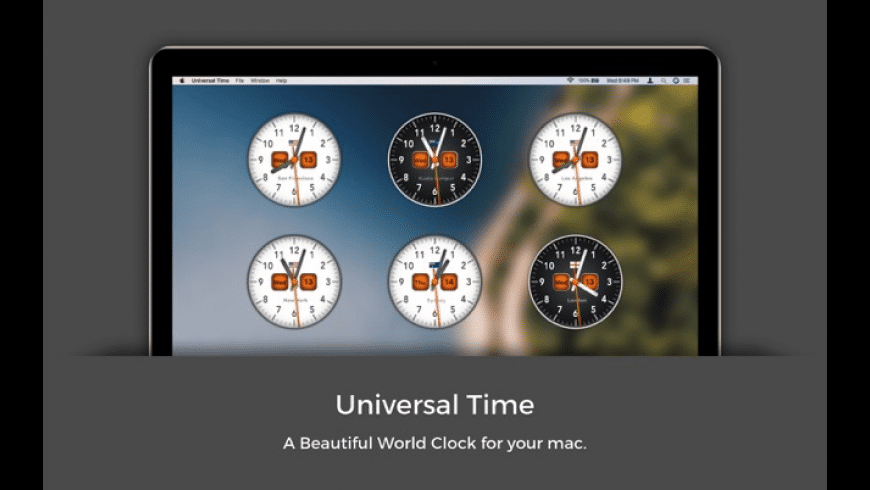 Universal Time for Mac - review, screenshots