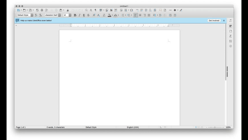 LibreOffice for Mac - review, screenshots