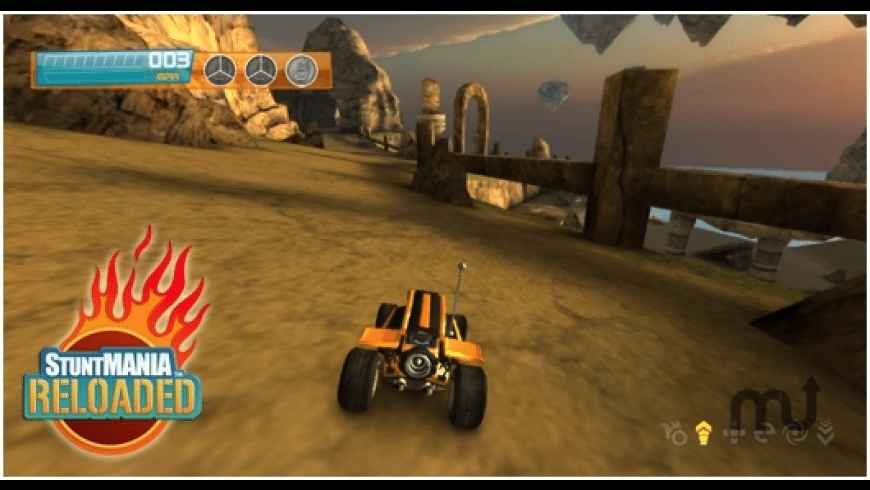 StuntMANIA Reloaded for Mac - review, screenshots