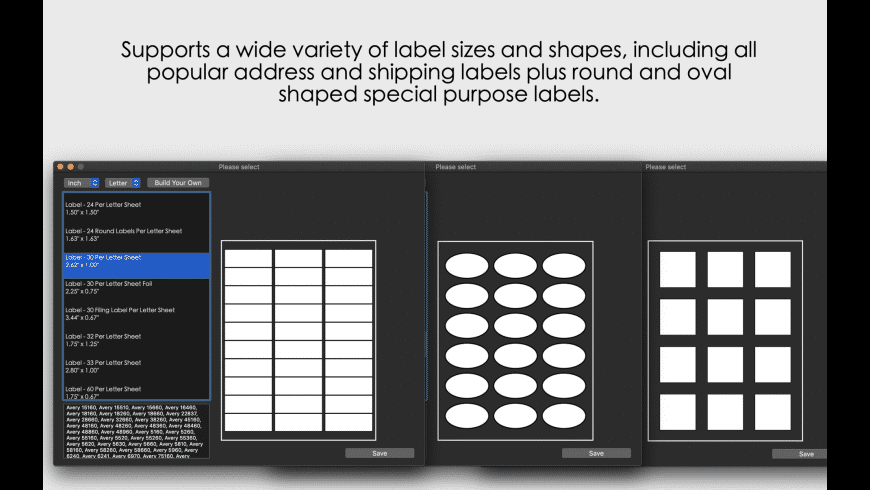 Orion Label And Print Studio for Mac - review, screenshots