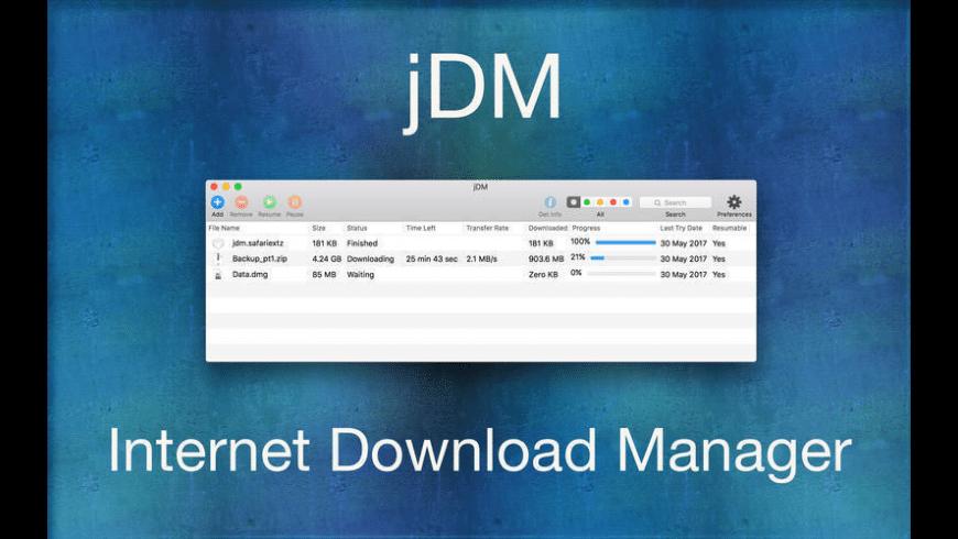 jDM for Mac - review, screenshots