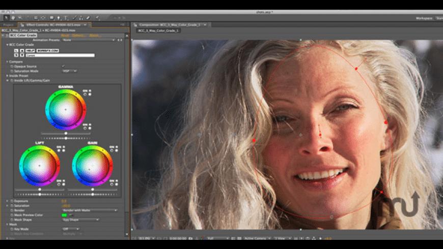 Boris Continuum 3-Way Color Grade Unit for Mac - review, screenshots