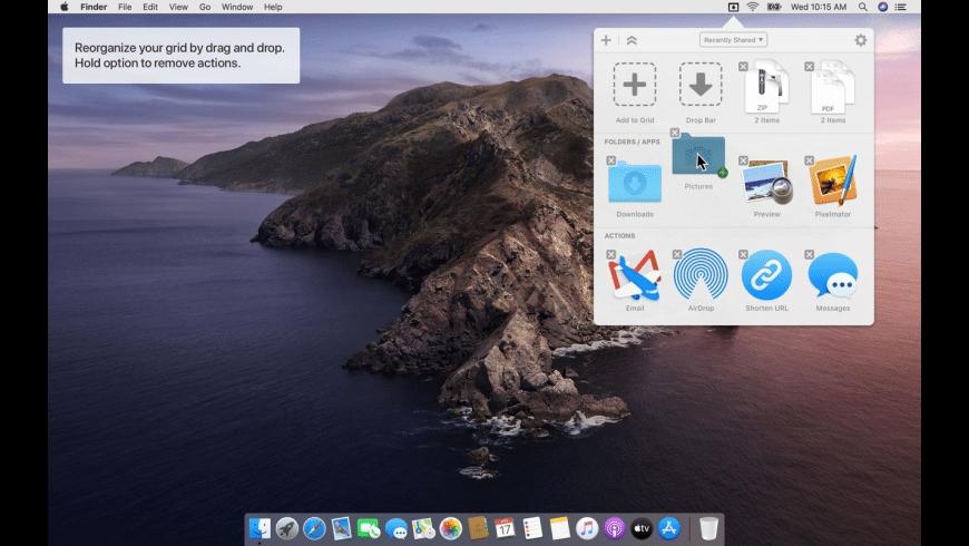 Dropzone for Mac - review, screenshots