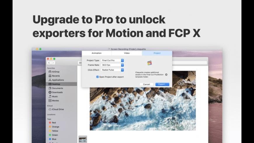 Claquette for Mac - review, screenshots