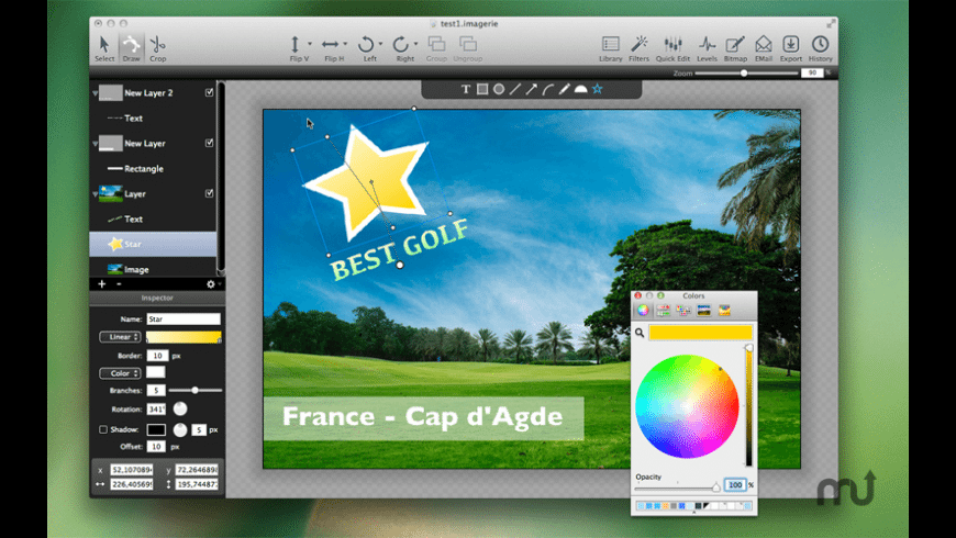 xDream for Mac - review, screenshots