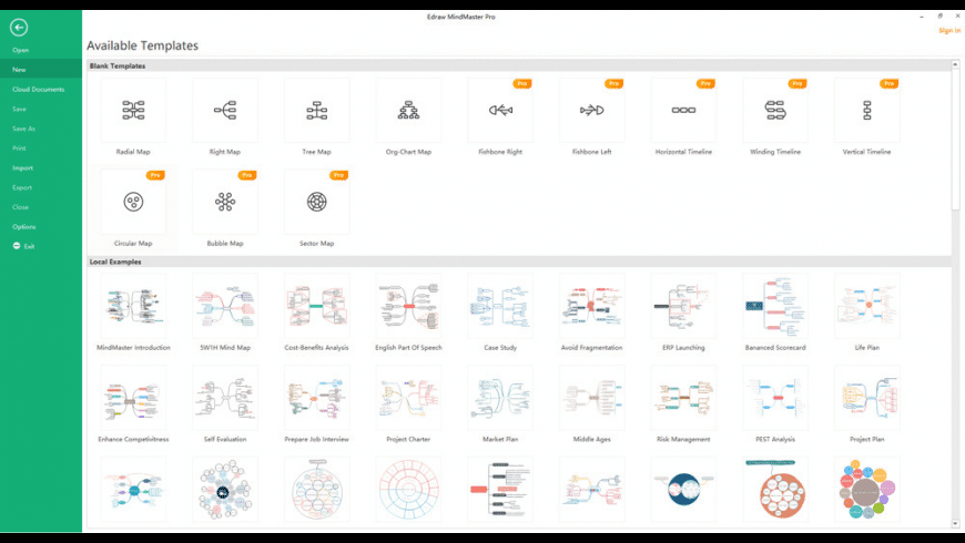 Edraw MindMaster for Mac - review, screenshots