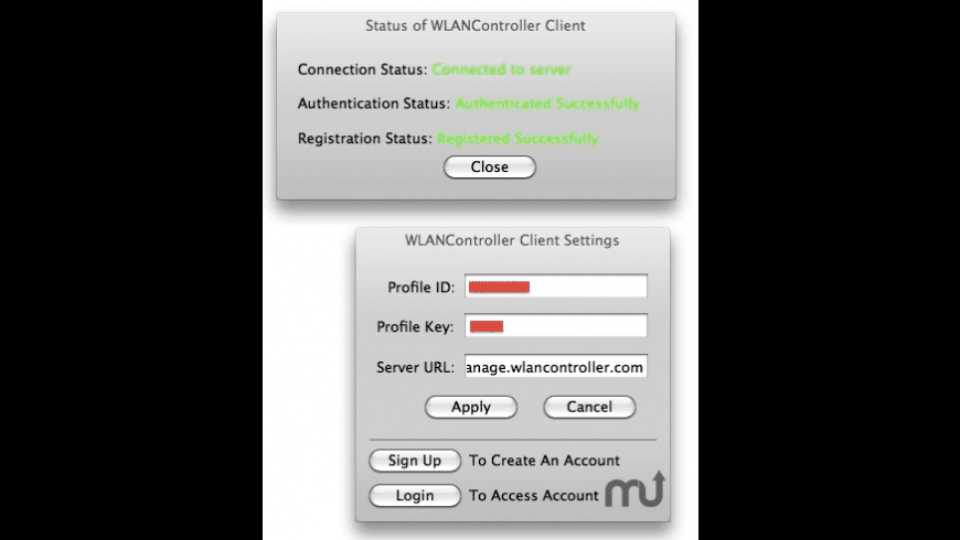 WLANController Agent for Mac - review, screenshots