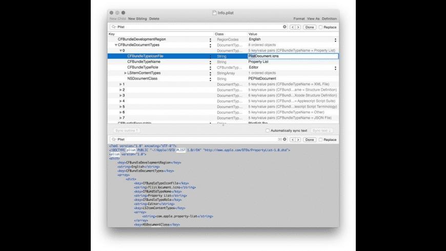 PlistEdit Pro for Mac - review, screenshots