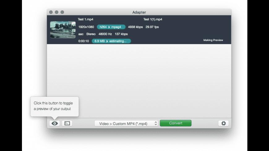 Adapter for Mac - review, screenshots