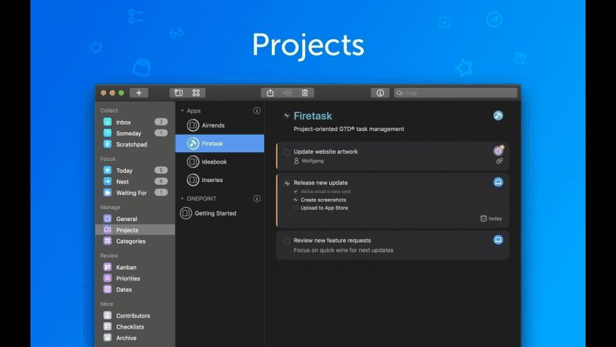Firetask Pro for Mac - review, screenshots