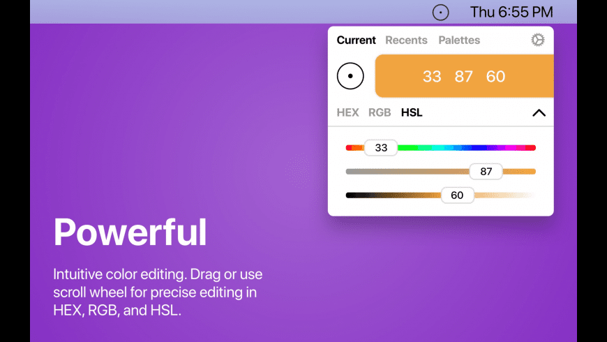 Colormate for Mac - review, screenshots