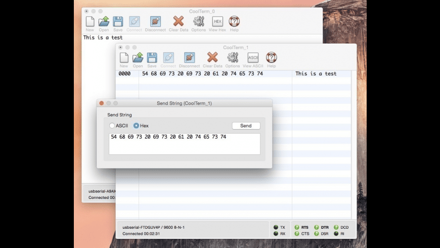 CoolTerm for Mac - review, screenshots