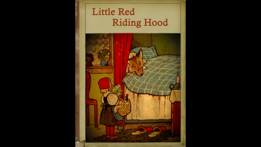 Little Red Riding Hood Interactive Retro Book Series HD for Mac - review, screenshots