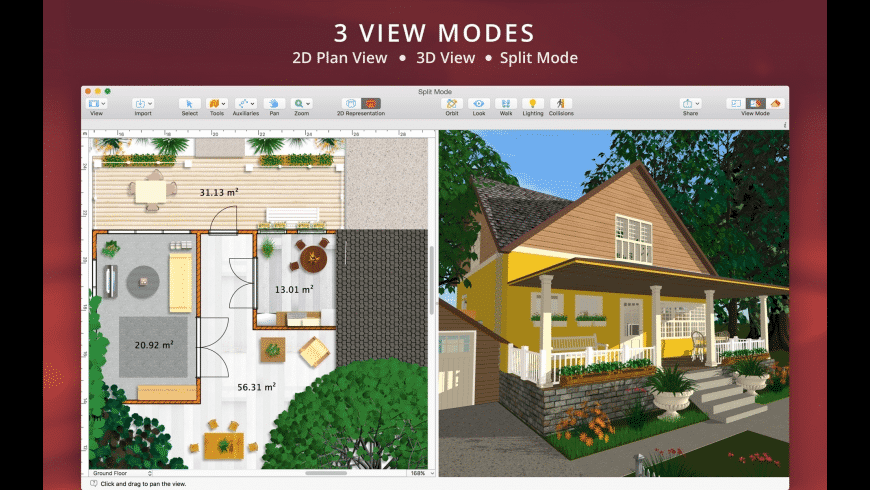 Live Home 3D for Mac - review, screenshots