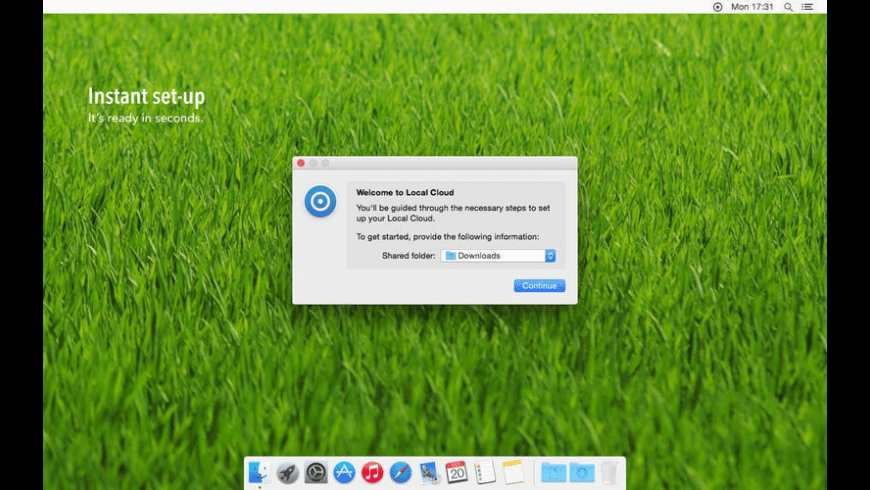 Local Cloud for Mac - review, screenshots