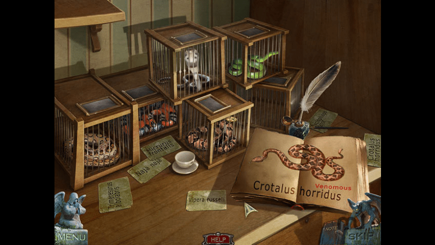 Redemption Cemetery: Curse of the Raven for Mac - review, screenshots