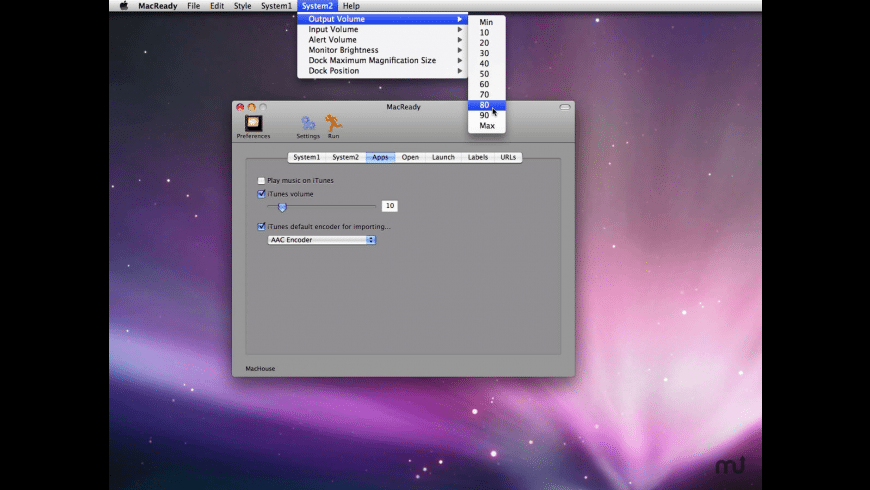 MacReady for Mac - review, screenshots