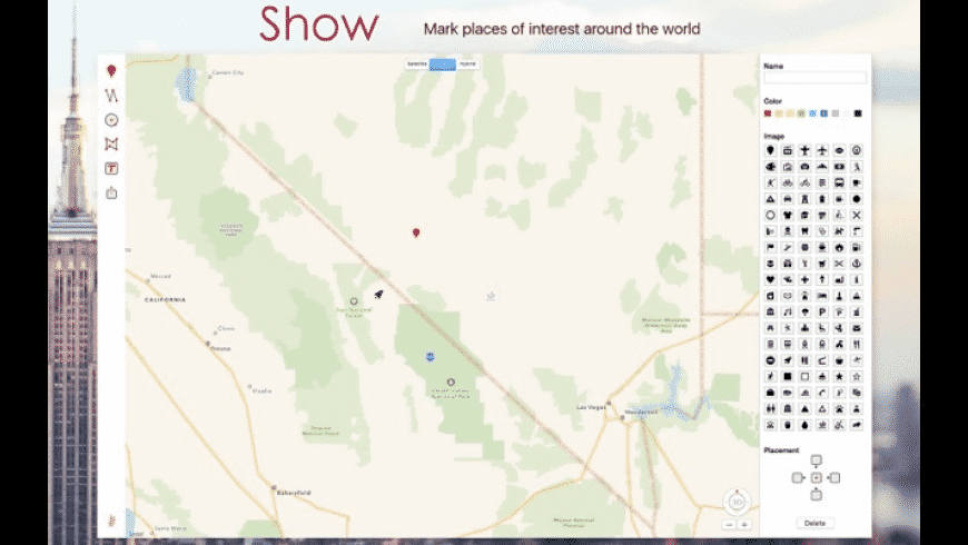 Ahoy Map Maker for Mac - review, screenshots