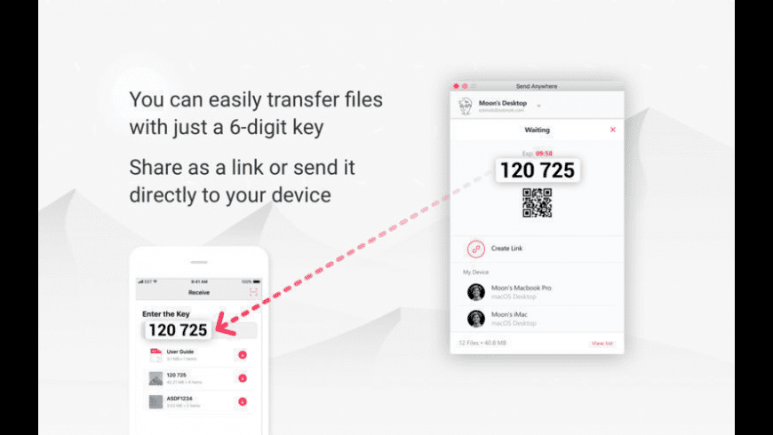 Send Anywhere for Mac - review, screenshots