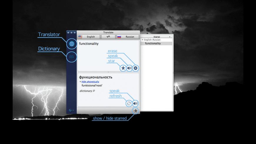 Translator for Mac - review, screenshots