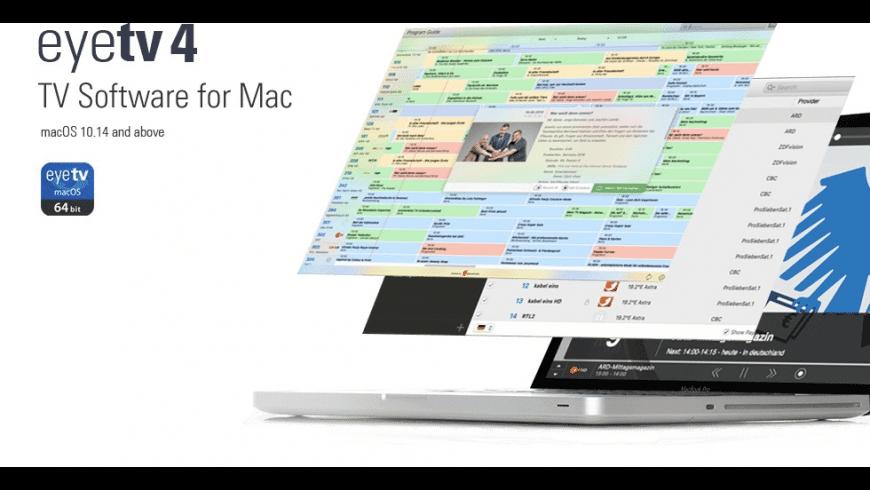 EyeTV for Mac - review, screenshots