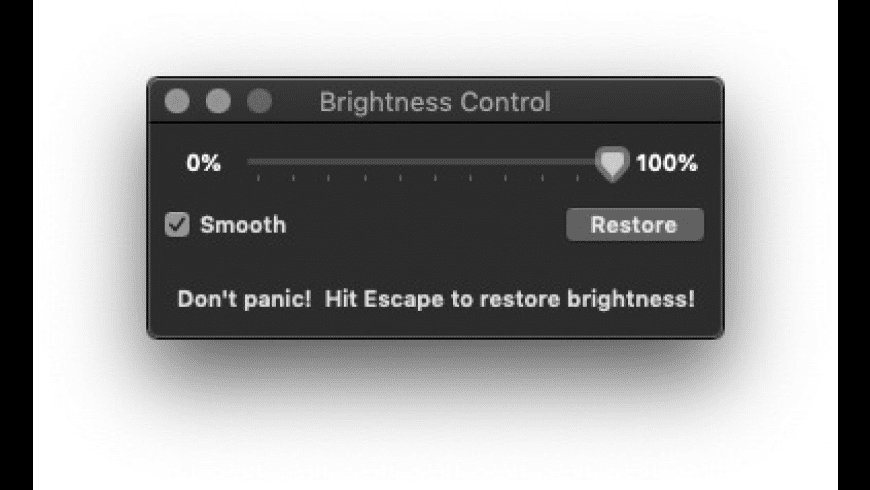 Brightness Control for Mac - review, screenshots