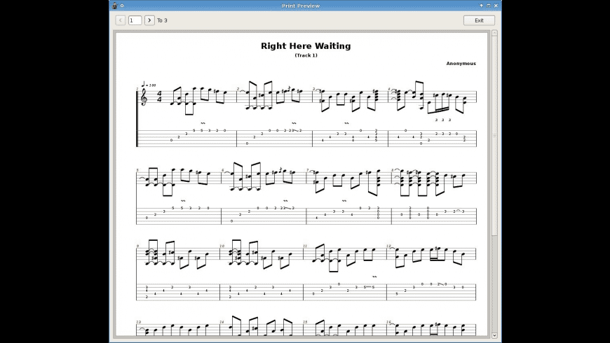 Tux Guitar for Mac - review, screenshots