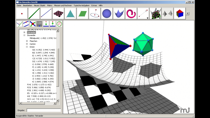 Archimedes Geo 3D for Mac - review, screenshots
