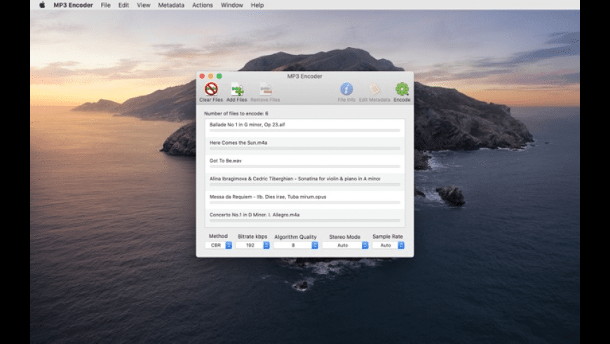 MP3 Encoder for Mac - review, screenshots