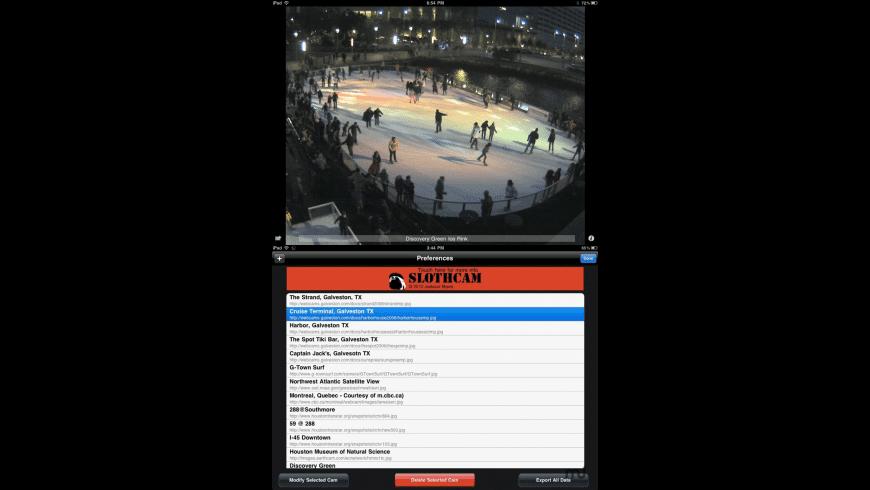 SlothCam Webcam Viewer for Mac - review, screenshots
