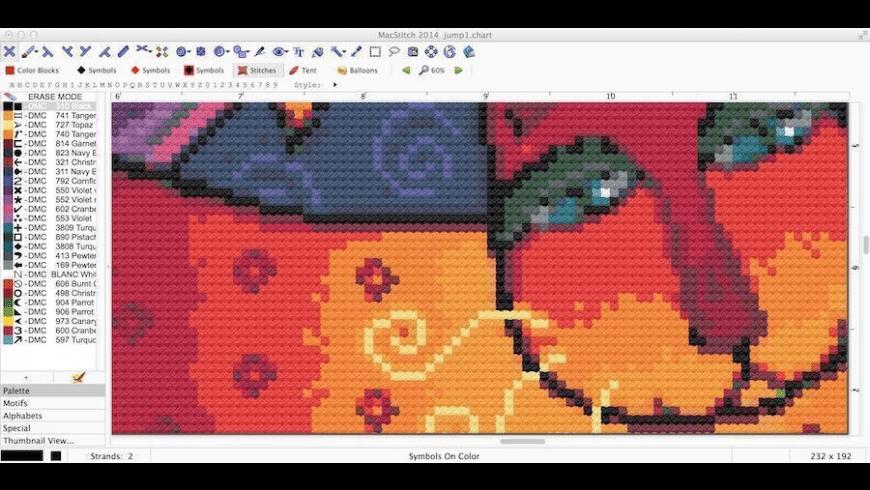 MacStitch for Mac - review, screenshots