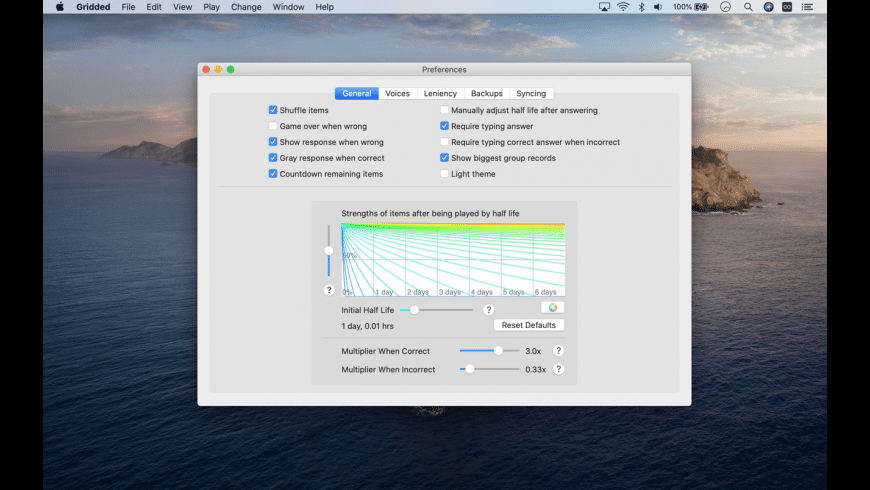 Gridded for Mac - review, screenshots